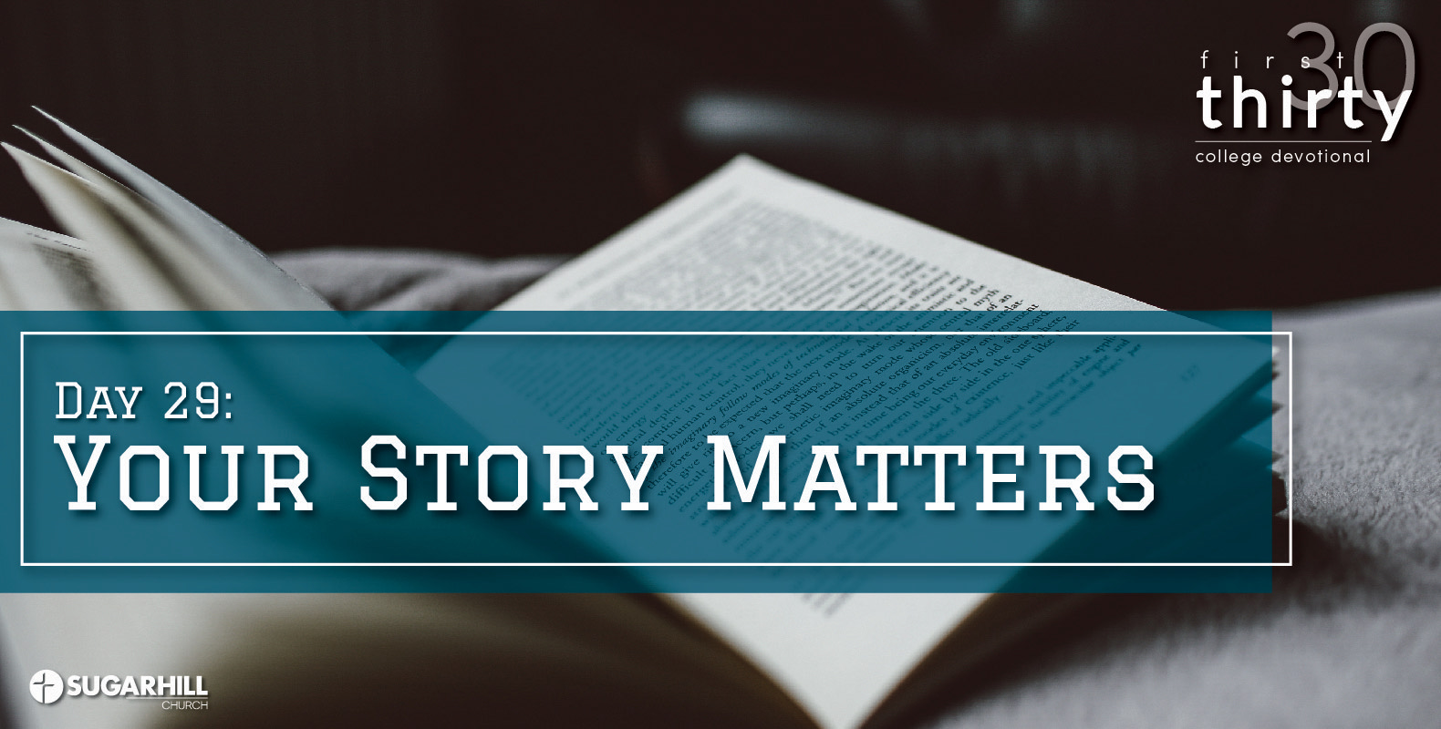 Your Story Matters (More than you think!)