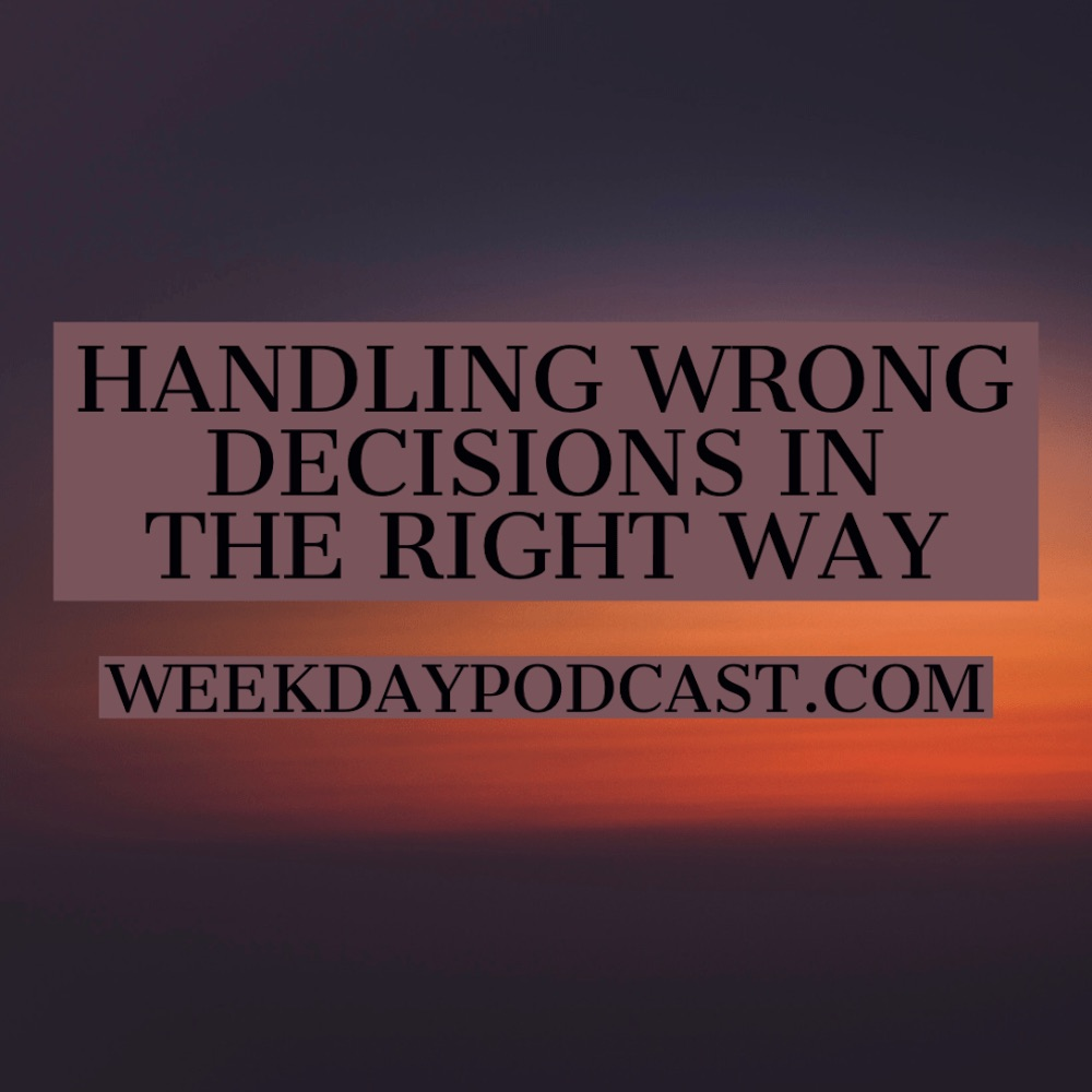 Handling Wrong Decisions in the Right Way