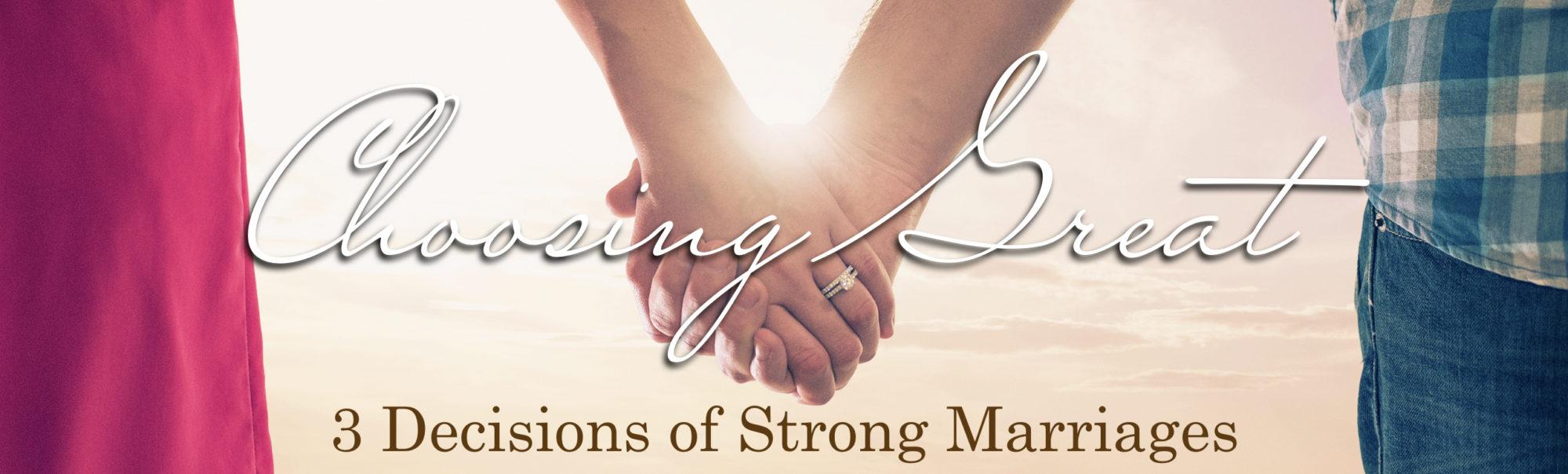 Choosing a Great Marriage | Genesis 2 | Bobby McGraw [sermon replay]