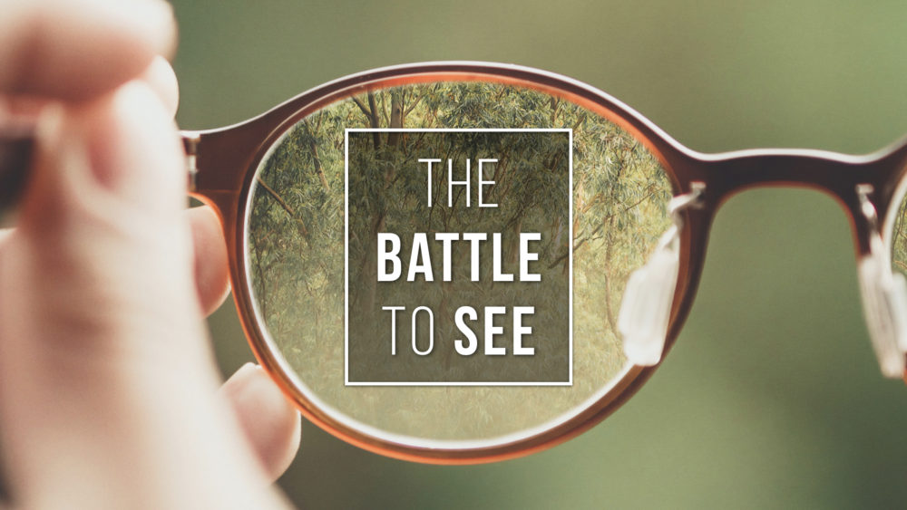 The Battle to See
