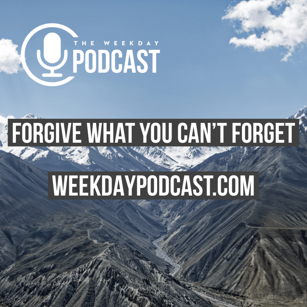 Forgive What You Can\'t Forget